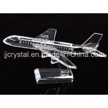 Crystal Model Plane for Table Decoration or Gifts