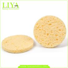 Free Sample Cellulose Wet Sponge Face Cleaning Sponge
