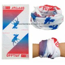 Custom Made Design Printed Polyester Promotional Multifunctional Buff Bandana