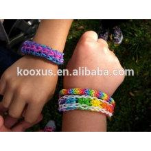 2014 Tie Dye Rubber Loom Bands