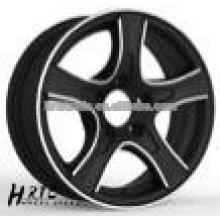 HRTC Jantes de liga de lubrificação polidas para carro 13 polegadas