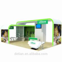 L'offre de Detian a mené le support d'exposition de thème léger avec le stand d'exposition de coffret d'affichage