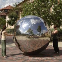 cidade moderna decoração esfera globo escultura decoração jardin acier