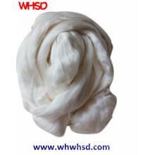 Fibra de seda 100% natural branca da vagabundagem