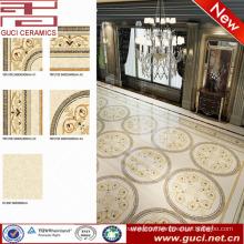 hot sale product polished porcelain floor tile for Hotel Lobby