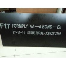 F17 Contrachapado de encofrado para el mercado de Nueva Zelanda