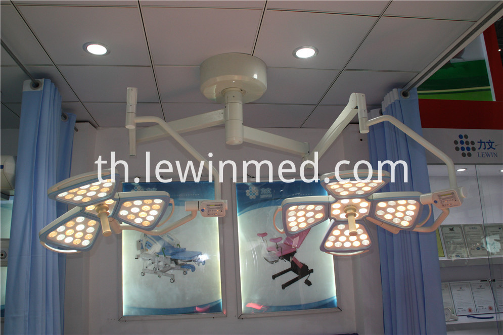 Dual lamp head led lights