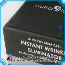 Plantillas de diseño de cajas de embalaje de perfume reciclado de alta calidad con inserción