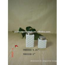 Best Selling Wholesale Ceramic Porcelain Candy Storage Jar