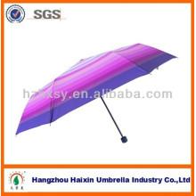 Guarda-chuva de tecido Nice Stripe Pongee