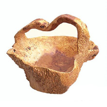 New Fabulous Carved Natural Durable Wood Root Basket