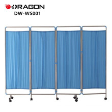 DW-WS001 stainless steel hospital bed screen curtain