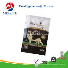 Mylar bolsa de plástico para el perro de mascota de alimentos de embalaje
