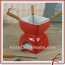 Набор для фондю из керамических сыров