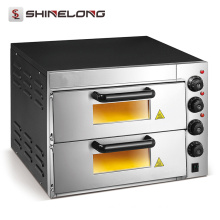 Guangzhou Professional High Efficiency Electric Bakery Equipment 2 Layers price of pizza oven