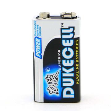Baterías alcalinas alcalinas de 9V con batería 1 / S