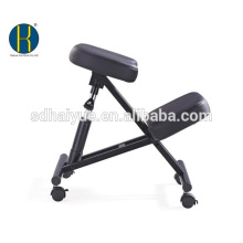 Office Use to Promote Good Posture Ergonomic Kneeling Stool in Black