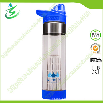 650ml Customized New Fruit Infusion Bottle BPA Free Infuser