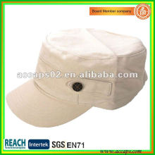 blank military style cap in apparel Shenzhen MC-1294