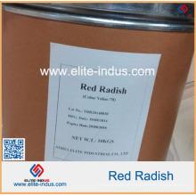 Cor natural do alimento Cor vermelha do rabanete para o corante vermelho