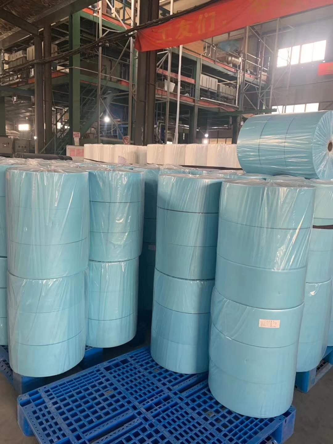 Blue and white Filter high quality PP Fiber Nonwoven Fabric