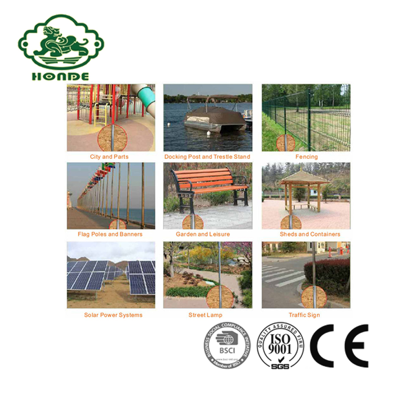 Ground Screw Pile foundation