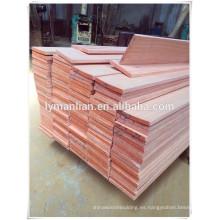 vigas de madera de imitación
