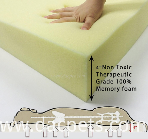 pet memory foam mat