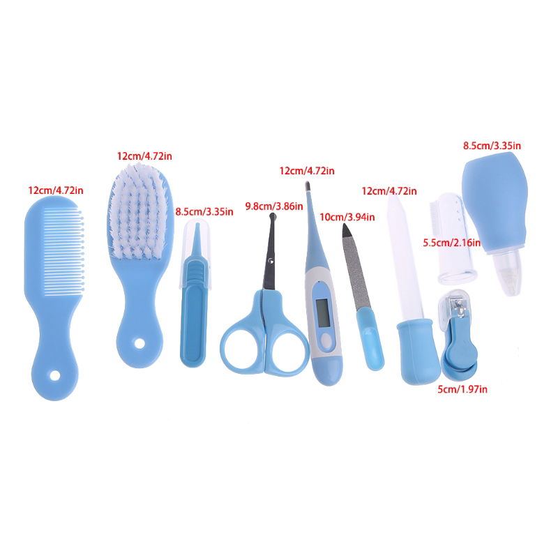 Thermometer Grooming Brush Kit