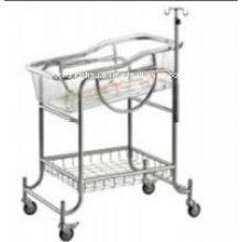 Chariot pour bébé 304grade S. S Hospital