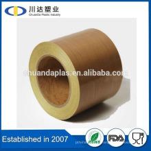 Горячая продажа PTFE покрытием ткани из стекловолокна PTFE пленки клейкой лентой для машины пакет импульсов