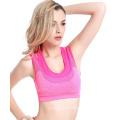Mode Gefälschte Zwei Weste Typ Sport Unterwäsche Hoch Elastische Engen Lauf Yoga Gym Shake-Proof Nahtlose Bügel Bhs