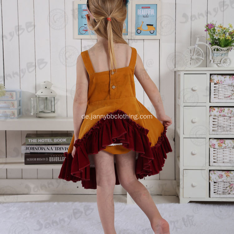Fallen Kinder Senf Boutique Remake Kleidung Sets