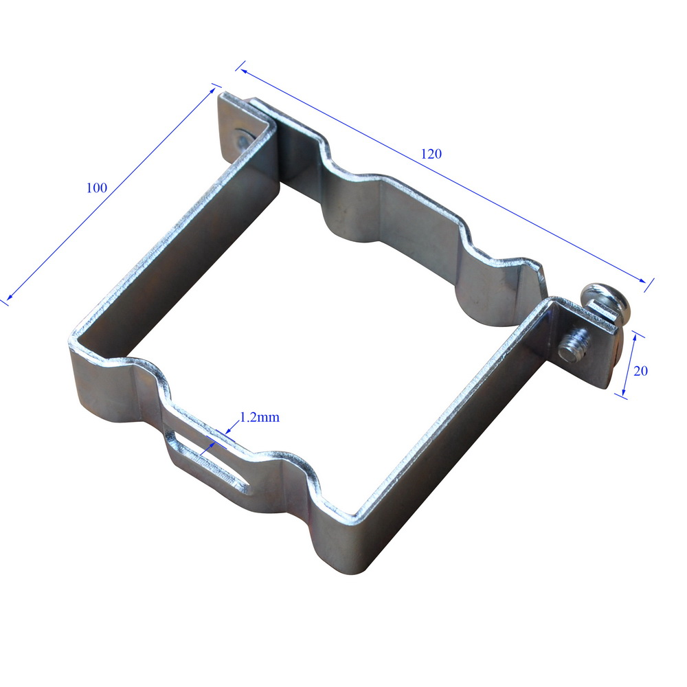 Scd0002 Zinc Plated Suspension Clip For Ceiling Keel Size