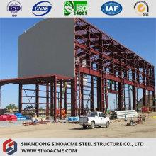 Estructura de acero Planta industrial de gran altura con grúa