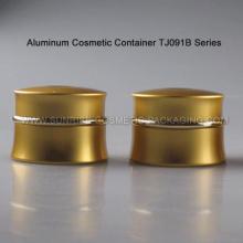 50ml en aluminium or crème conteneur