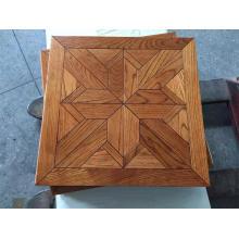 Madera de roble rústico Parquet de madera de parquet Versailles (especies de madera se pueden cambiar)