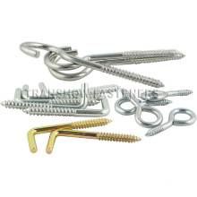 Galvanized Steel Wood Eye Screw