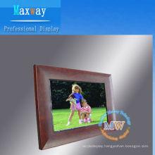 12.1 inch wood digital photo frame