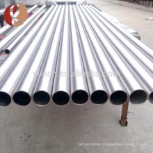 Ti-3A-2.5V gr9 seamless titanium alloy tubes for bike frame customed