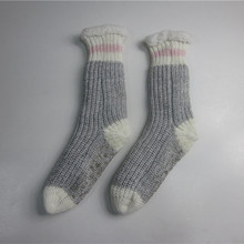 Mode Chunky Stricken Slipper Socken