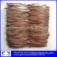 Filetes de anchova salgados