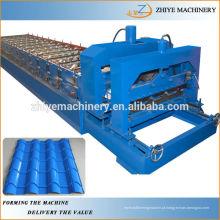 Aço colorido, rolo da telha da telha do passo que dá forma à máquina