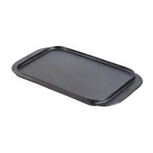 Cast Iron Double Griddle Plate for BBQ