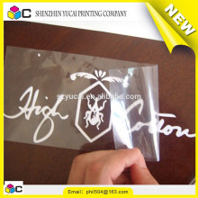 Decoração de boa qualidade personalizado marca logotipo adesivo