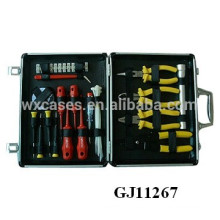 strong&portable Aluminum Tool Case With Tools Store System inside