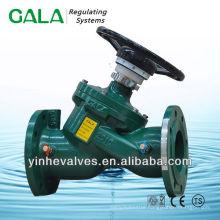 fixed orifice balance valve