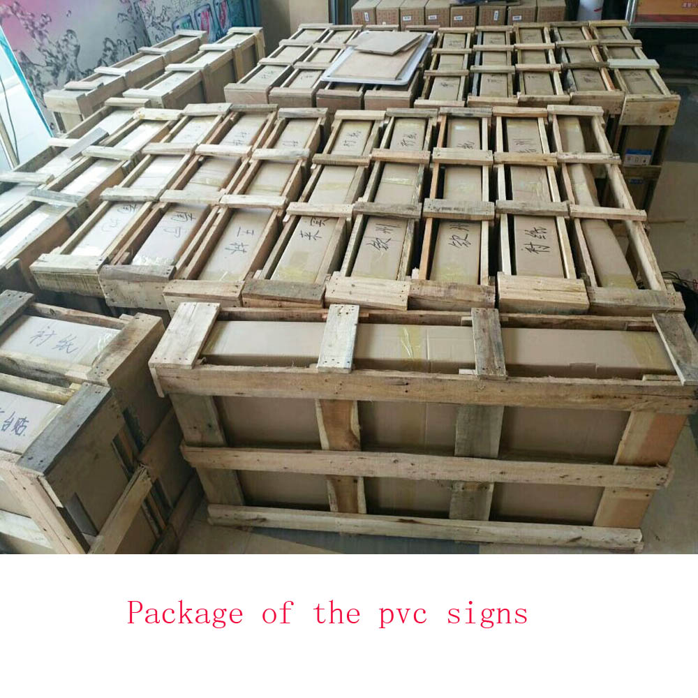 Package Of Pvc Board Sign
