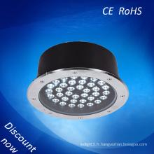 Nouvelle technologie conduit lumière souterraine blanc chaud IP67 lumière souterraine