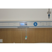 Aluminiumalloy Medical Bed Head Unit